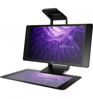 HP Sprout Pro G2 All-in-One PC mit 2D/3D Scanner, Touch-Screen, Tablet Editier-Optionen uvm