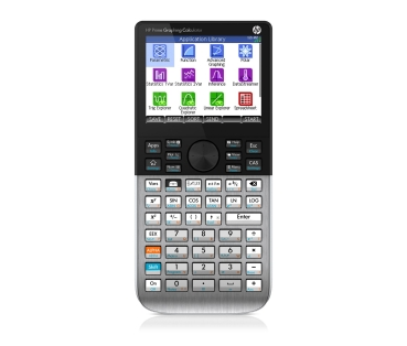 HP Prime v2 Graphing Calculator wireless Eingabe-Logik algebraisch RPN Textbook